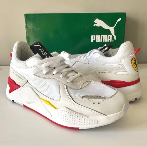 Puma Shoes   Puma Rsx Trophy Ferrari